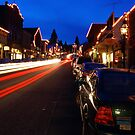 Nevada City lights by flyfish70