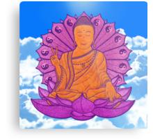 peace buddha in the sky Metal Print