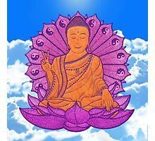 peace buddha in the sky Photographic Print