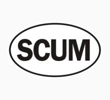 SCUM - Oval Identity Sign	 by Ovals
