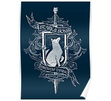 Stark & Sons Direwolf Taming Poster