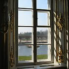 Peterhof Palace through the Window by BrianFitePhoto