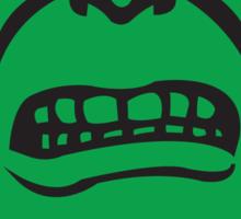 HULK Face Sticker