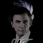James Bond 007 iphone case &quot;Bonded&quot; Connery/Craig full circle 2 by ALIANATOR