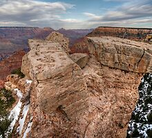 Grand Canyon Rock Formation by Michael Kirsh