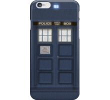 Doctor Who New Tardis iPhone Case/Skin