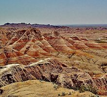 The Colors of Badlands National Park by Martha Sherman