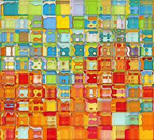 Modern Tile Art #4, 2012 by Mark Lawrence