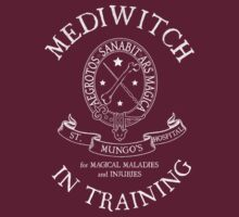 St. Mungo's Hospital - Mediwitch in Training by Mouan