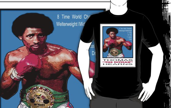 "BOXING LEGENDS: THOMAS ""THE HITMAN"" HEARNS by S DOT SLAUGHTER"