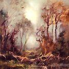 Woodland Dawn by C J  Elsip