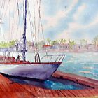 NEWPORT HARBOUR by Robert Benjamin