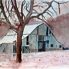 OLD BARN by Robert Benjamin