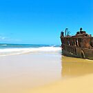 Maheno Shipwreck by LibbyWatkins