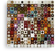 Circles and Squares 3. Modern Geometric Art Canvas Print