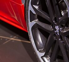 Peugeot RCZ Wheel [ Print & iPad / iPod / iPhone Case ] by Mauricio Santana