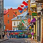 Old Quebec City by Manon Boily