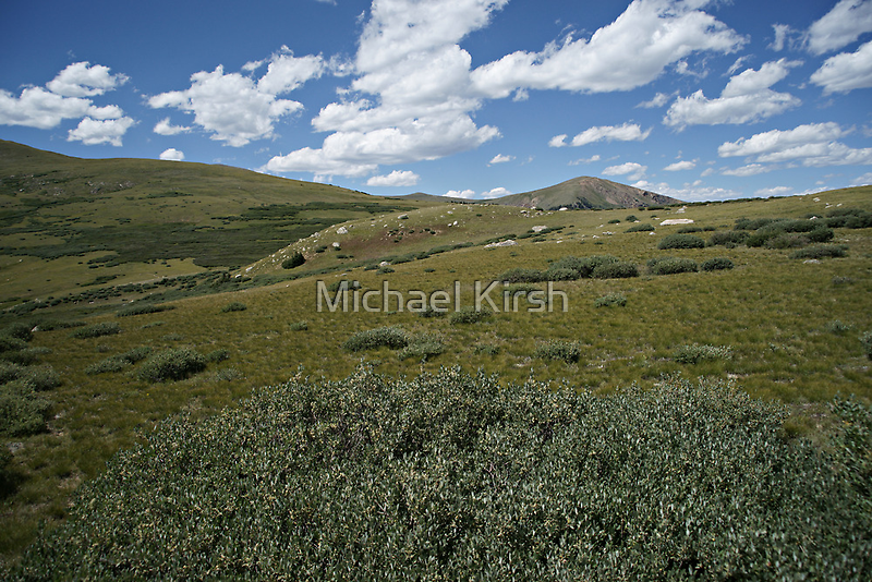 Guanella Pass Slopes by Michael Kirsh