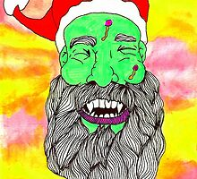 Santa with a twist santa by ClippityClopArt