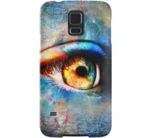Through the Time Travelers Eye Samsung Galaxy Case/Skin