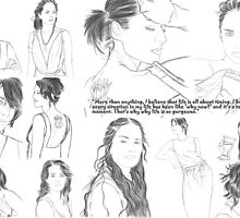 Lena Headey collage of 12 by KelceyHeadey