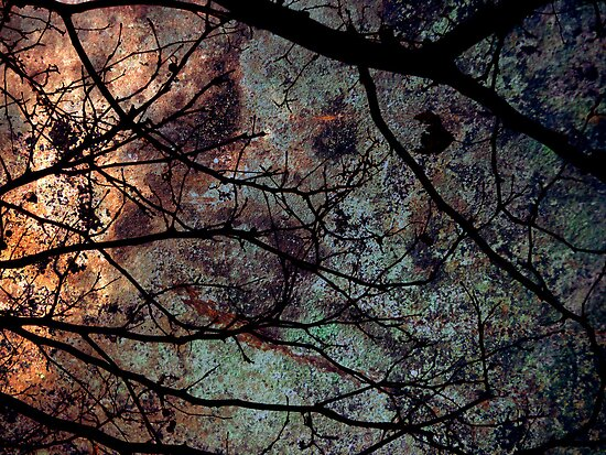 Underneath a rusty sky... by Frederick James Norman