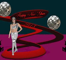 "☆¸.•°*""HAPPY NEW YEAR WISHING U LUCK IN THE NEW YEAR ☆¸.•°*""  by ╰⊰✿ℒᵒᶹᵉ Bonita✿⊱╮ Lalonde✿⊱╮"