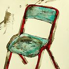 old metal chair by donnamalone