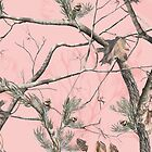 Tree Camo Pink by TinaGraphics
