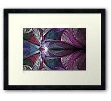Satin Flame Framed Print