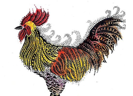 Rooster by iamdinda