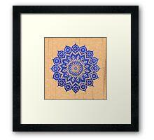 okshirahm sky mandala Framed Print