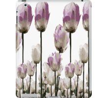 Tulip flowers iPad Case/Skin
