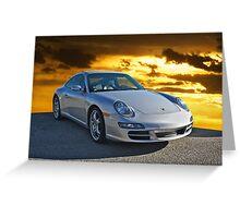 2007 Porsche 911 Greeting Card