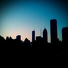 Chicago Skyline by SunShineInMySky