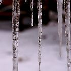 Striped Icicles by Karen Jayne Yousse