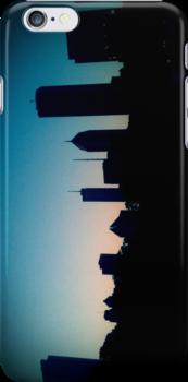 Chicago Skyline iPhone and iPod Case  by SunShineInMySky