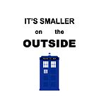 It's Smaller on the Outside by Atalya