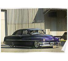 Mercury Sedan 1951 Top Chop #7 Poster