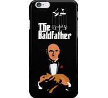 the bald father iPhone Case/Skin