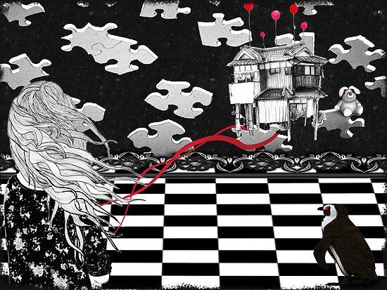 The Missing Pieces.... by Karen  Helgesen