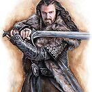 Thorin Oakenshield by jankolas