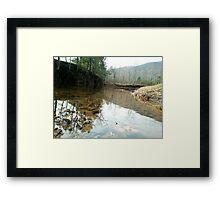 River Flow Framed Print