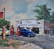 Smitty's Garage by Rachel Hochadel