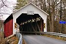 Horsham Covered Bridge Survived the Floods by Gene Walls