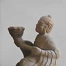 Statue at  Champa Museum Hue Vietnam by Julie Sherlock