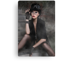 Steampunk Maiden Canvas Print