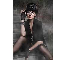 Steampunk Maiden Photographic Print