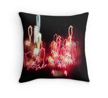 Light Drips Throw Pillow