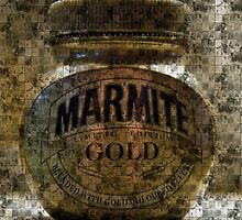 Marmite Gold with Tiles by Andrew Robinson